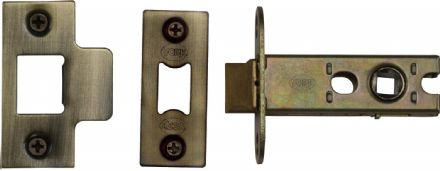 M Marcus York Security YKAL2-AT Architectural Mortice Latch 64mm Antique Brass